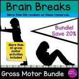 Gross Motor Brain Break Activities Bundle
