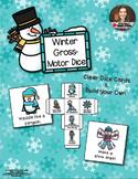 Gross-Motor Dice - Winter Version