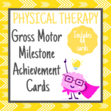 Gross Motor Milestone Achievement Cards