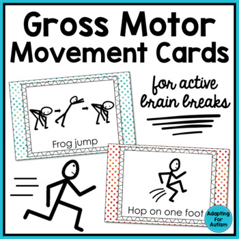 Active Brain Breaks: Gross Motor Movement Cards