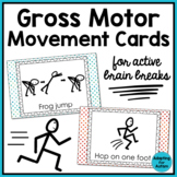 Brain Breaks: Gross Motor Movement Cards for Active Breaks