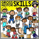 Gross Motor Skills Clip Art Set {Educlips Clipart}