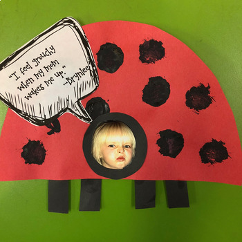 "Grouchy Ladybug ""I feel grouchy when..."" craft"