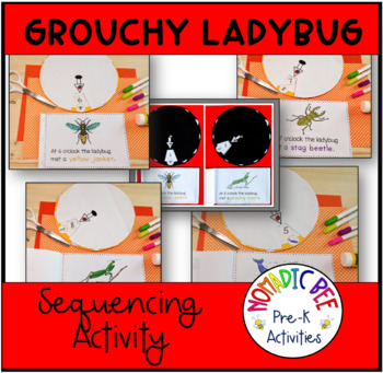 Grouchy Ladybug Sequencing Activity