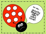 Grouchy Ladybug Sight Word Cover