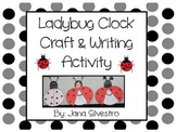 Ladybug Time Craft and Writing Activity