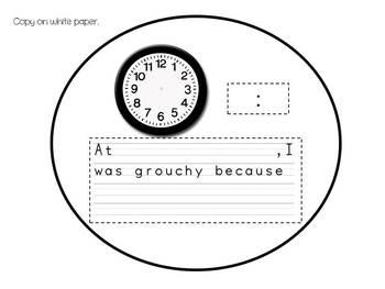 Ladybug Time Craft and Writing Activity
