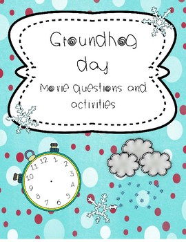 groundhog day movie questions essays etc by la prof geek tpt groundhog day movie questions essays etc