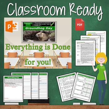 Groundhog Day Writing BUNDLE! - Argumentative, Persuasive, Expository, Narrative