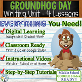 Groundhog Day Writing BUNDLE! - Argumentative, Persuasive,