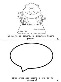 Ground Hog Day Book (Spanish)