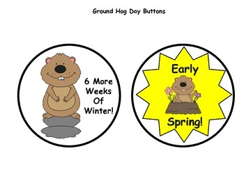Ground Hog Day Button