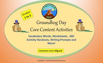 Groundhog Day Lesson Plan