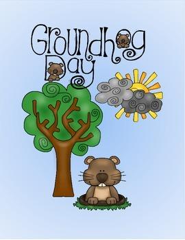 FREE Ground Hog Day Matching Activity