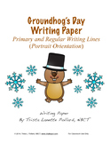 Groundhog's Day Writing Paper (Landscape & Portrait)