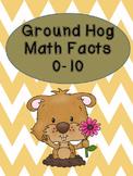 Ground Hog Math Facts