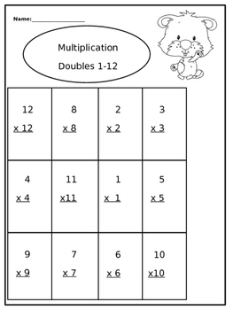 Ground Hog Multiplication