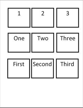 Kindergarten Number Recognition Game 4