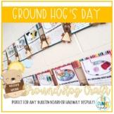 Ground Hog's Day Bulletin Board Craft/Hallway Display