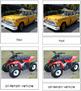 Ground Transportation: 3-Part Cards