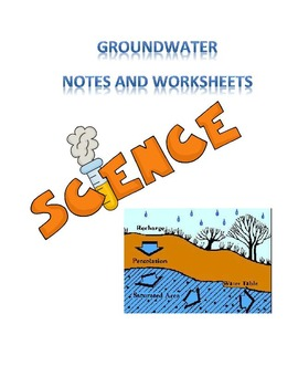 Ground Water notes and worksheets
