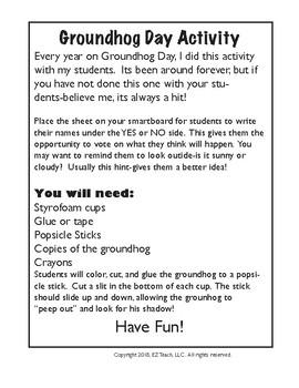GroundHog Day - February!
