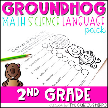 Groundhog's Day 2nd Grade Pack