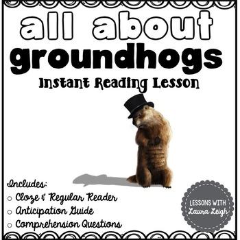 Groundhog Instant Reading Lesson