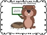 Groundhog ABC Matching Game