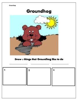 Groundhog Activites
