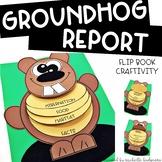 Groundhog Activities | Groundhog Research Facts Flip Book