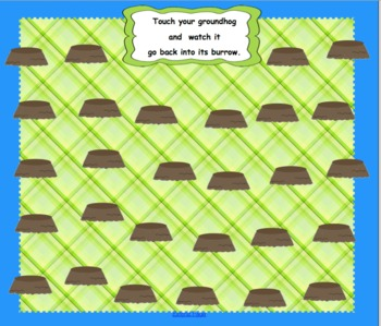 Groundhog Attendance for SMARTBoard with Animation