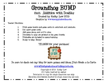 Groundhog BUMP -- Adding Doubles