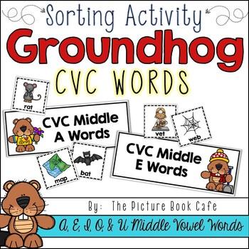 Groundhog CVC Sorting Activity