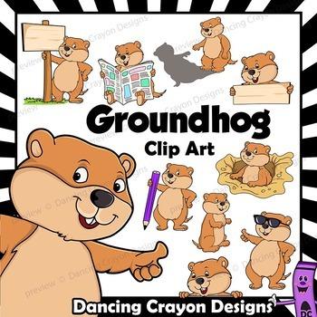 Groundhog Clip Art