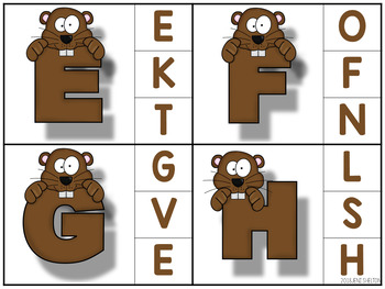 Groundhog Clip Card Activities for Toddlers, Preschool, and PreK