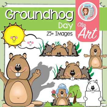 Groundhog - Clip Art