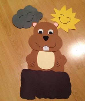 Groundhog Craft (A Groundhog Day craft)