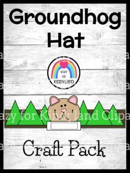 Groundhog Day Craft for Kindergarten: Hat