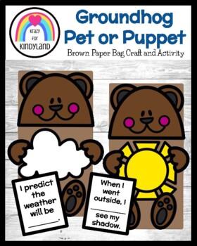 Groundhog Day Craft: Brown Paper Bag Pet