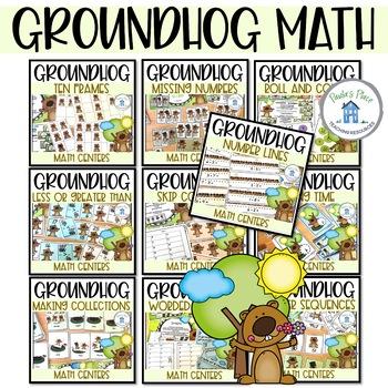 Groundhog Day - 10 Math Tasks