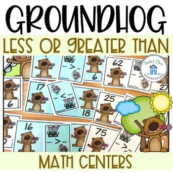 Math Tasks Bundle Groundhog Day