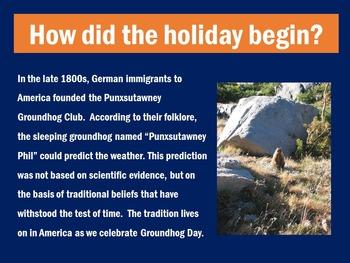Groundhog Day Activity | Groundhog Day PowerPoint