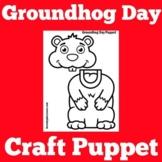 Groundhog Day Craft Activity