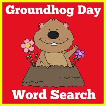 Groundhog Day Worksheet | Word Search