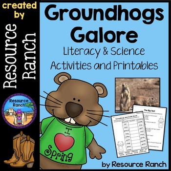 Groundhog Day Activities and Printables