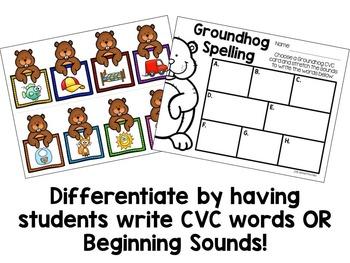 Groundhog Day Literacy Freebie
