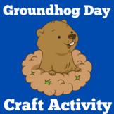 Groundhog Day | Craft Activity | Kindergarten 1st 2nd 3rd Grade