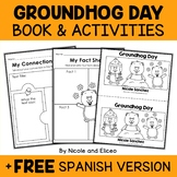 Mini Book and Activities - Groundhog Day