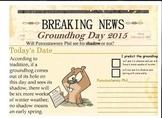 Groundhog Day 2015 Newspaper